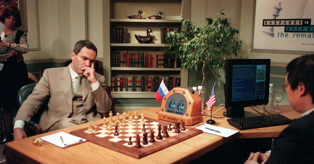 Deep Blue beats Garry Kasparov in Chess