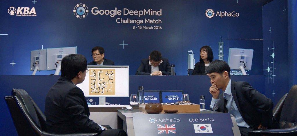 Deep Mind's AlphaGo beats Lee Sedol in Go Match