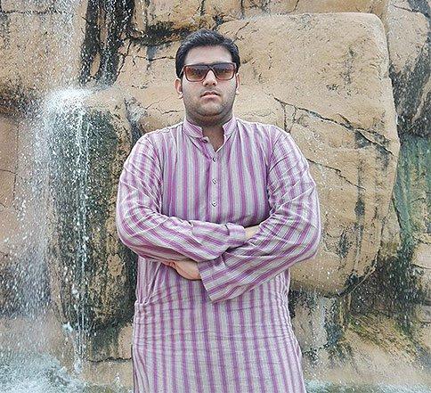 Awais Naeem at a National Park in Lahore, Pakistan