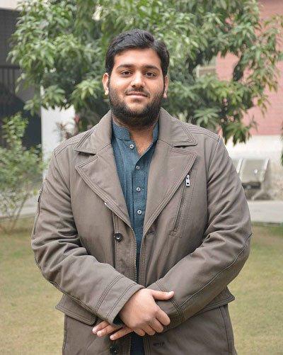 Awais Naeem during Final Day of Undergraduate Classes