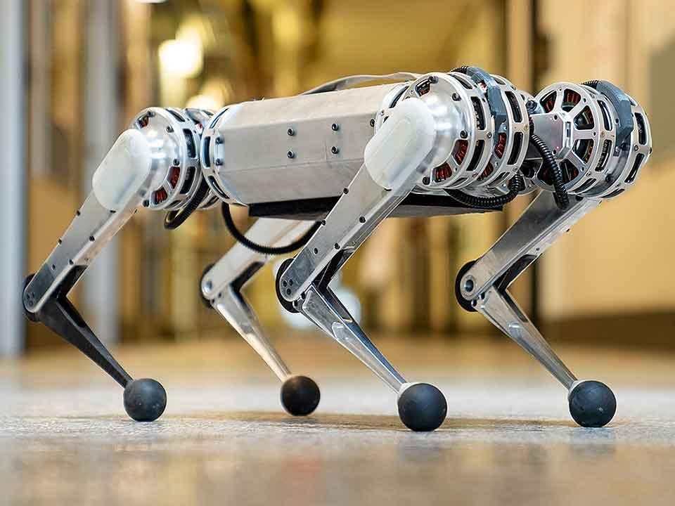 MIT Mini Cheetah - A Quadrupled Robot