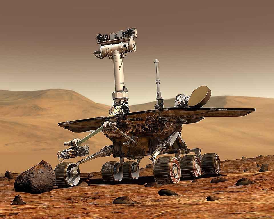 Mars Rover - An Autonomous Robot