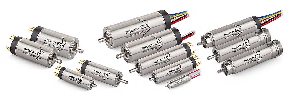 Maxon BLDC Motors having different Speed Torque Characteristics